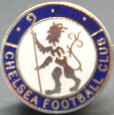 CHELSEA FC Rare vintage club crest type badge Brooch pin In chrome 23mm Dia