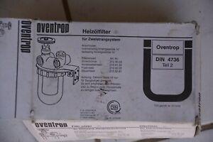 Filtre fuel Oventrop