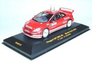Ixo 1//43 Peugeot 307 WRC Rallye Monte Carlo 2004 N°5