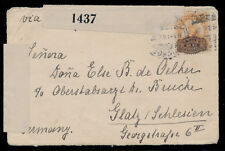 ve54 Mexico Inflation Censored Cover 20/5ctv Barril Cananea SON Germany Jun 1915