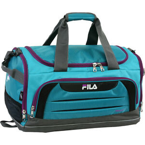 Image is loading Fila-Cypress-Small-Sport-Duffel-Bag-4-Colors- 7c06adf6211