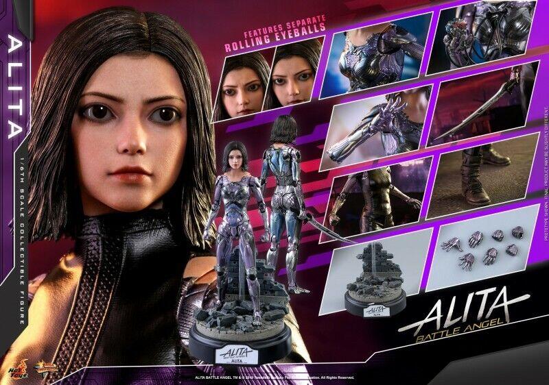 Caliente giocattoli 1 6 6 6 Alita  Battle Angel Alita Collectible cifra MMS520 Set 9ec1e0