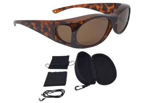 Leopard Überzieh Lunettes de soleil ÜBERBRILLE sonnenüberbrille Fashion Edition