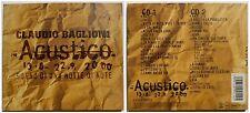 CLAUDIO BAGLIONI ACUSTICO 2 CD 2000 DIGIPACK