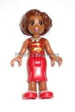Lego Figure Accessories Skirt White Pink 2551 EK