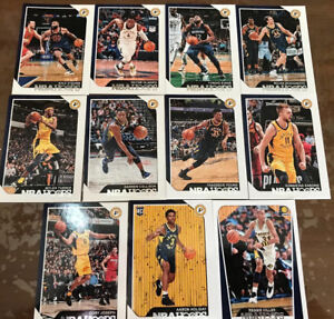 2018 2019 INDIANA PACERS 20 Card Lot w/ HOOPS TEAM SET (14