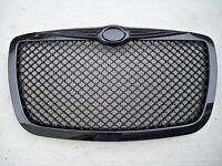 05-10 Chrysler 300 300c Touring Srt8 Gloss Black Honeycomb Mesh Front Grill