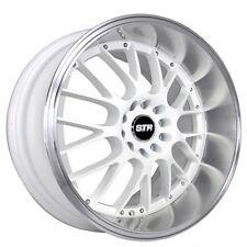 """(4pcs) 17"""" STR Wheels 514 White JDM Style Rims"""