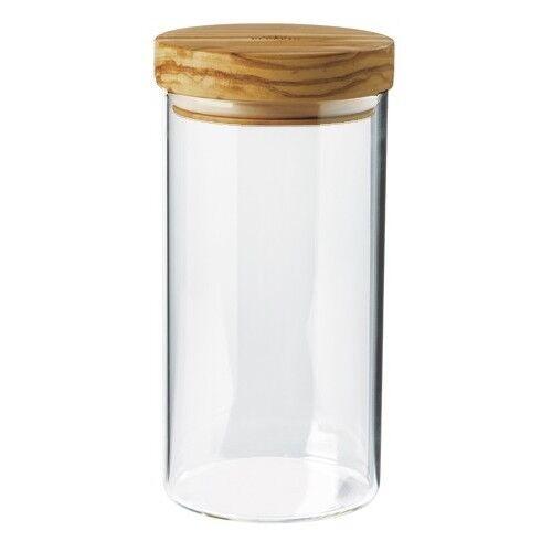 Récipient avec couvercle de Olivenholz BERARD vorratsglas verre vorratsdose