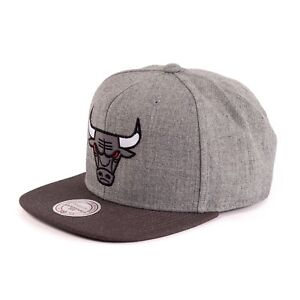 Mitchell-amp-Ness-NBA-CHICAGO-BULLS-GORRA-SNAPBACK-Carbon-Gris-93978