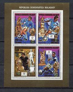 S6401-Malgasy-Rep-Madagaskar-1990-MNH-Wc-Football-039-90-cm-Fussball-Ms-Read-Note