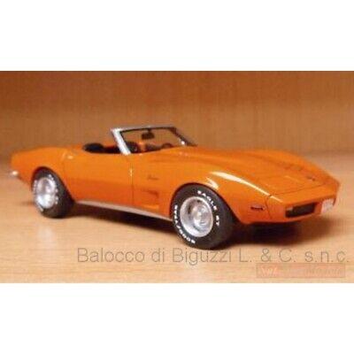 C3 Cabrio  orange 1973  1:43 Neo Scale Models 46935  *NEW* Chevrolet Corvette