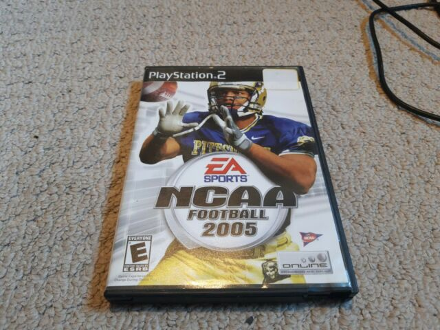 NCAA Football 2005 - Complete - Good Cond. - works great - Playstation 2 PS2