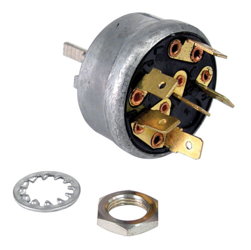 12 VOLT    B6C-17470-A 1953-1956 FORD TRUCK ELECTRIC WIPER MOTOR ON//OFF SWITCH