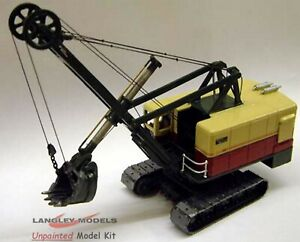 Ruston-Bucyrus-110RB-Face-Shovel-RW21-UNPAINTED-OO-Scale-Langley-Models-Kit