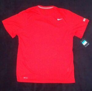 5f363470dad89 New Budweiser Nike Dri-Fit Training Shirt 384407- 657 Red Size XL ...
