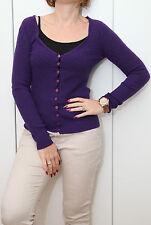 AMISU Shirt-Jacke Damen Shirtjacke_lila Gr.S/36