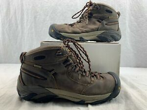 KEEN Utility 1007009 Men s Detroit Mid Soft Toe WP Work Boot Black ... 3992ad7c9a9