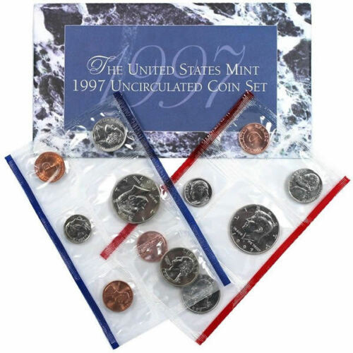 1997 P and D US Mint Uncirculated Coin Set
