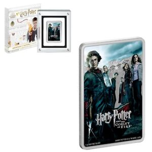2020 Niue 1 oz Colorized Silver The Goblet of Fire - Harry Potter Movie Poster