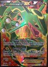 Pokemon Rayquaza-EX - 123/124 - Full Art Ultra Rare Moderately Played, English