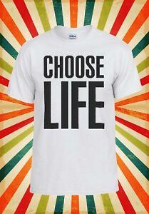 Constructif Choisir Life Geek Swag Hipster Cool Hommes Femmes Débardeur Tank Top Unisexe T Shirt 335-afficher Le Titre D'origine