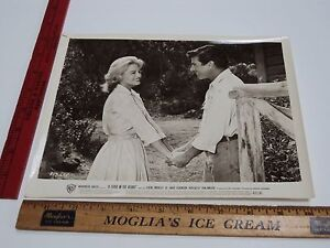 Rare Orig VTG Efrem Zimbalist Jr Angie Dickinson A Fever In The Blood Film Photo