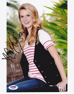 Psa/dna Autographed Caroline Sunshine Signed 8x10 Photo Tinka Shake It Up Television