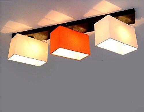 Plafoniere Per Ristoranti : Led legno massiccio plafoniera lampada da soffitto 3 bruciatori