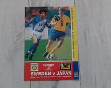 35) Sweden v Japan umbro cup 10-6-1995