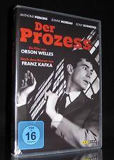 DVD DER PROZESS - ORSON WELLES + ANTHONY PERKINS + ROMY SCHNEIDER (Franz Kafka)