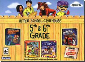 AFTER-SCHOOL-CLUBHOUSE-5th-6th-Grade-New-in-Box-Carmen-Sandiego-ClueFinders
