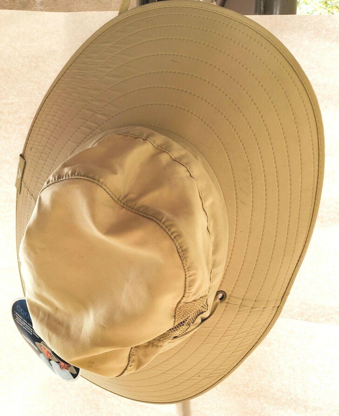Activcool refroidissement Booney protection UPF30 Oversize Unisexe Kaki Chapeau Sweat Activé