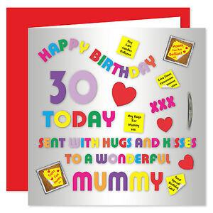 Image Is Loading Mummy Happy Birthday Card Age Range 18 50