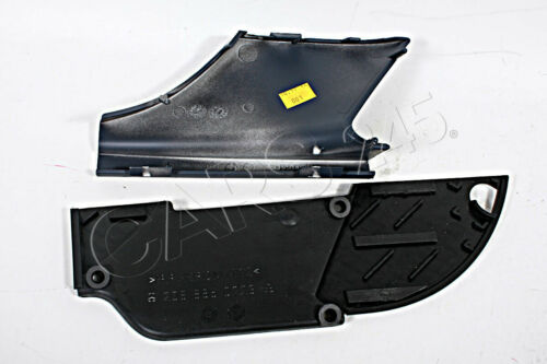 Genuine Front Bumper Grill Right Tow Hook Primed Cover SET MERCEDES CLK W208