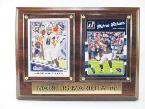 M a placche NFL FOOTBALL Mariota Tennessee Titans legno immagine parete 20 cm