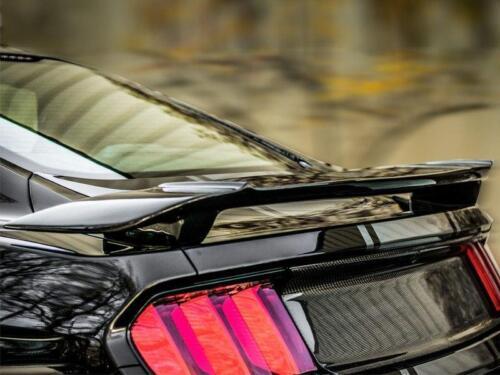 "2015 and Up Unpainted Ford Mustang /""Black Mamba/"" Custom 2post Pedestal Spoiler"