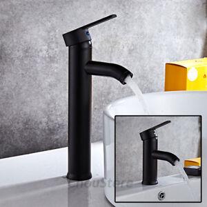 Matte Black Mixer Round Bathroom Vanity