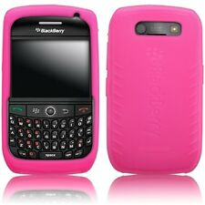 hot pink SILICONE CASE SKIN COVER for Blackberry Curve 8900 tm089