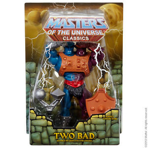 für Auspacker TWO BAD 2014 Masters of the Universe  Classics MOTUC MOTU HE MAN