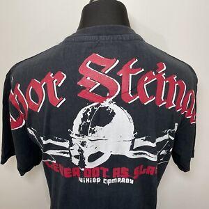 Thor Steinar Lever Dot As Slav Viking Company Mens Black T Shirt Tee XL Nordic