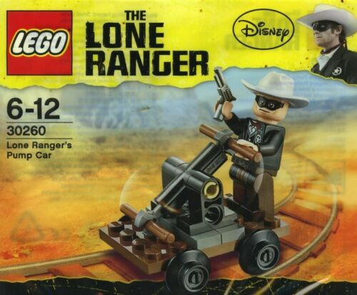 "LEGO DISNEY Set No.30260 ""Lone Ranger/'s Pump Car/"" NEW FACTORY SEALED POLYBAG"