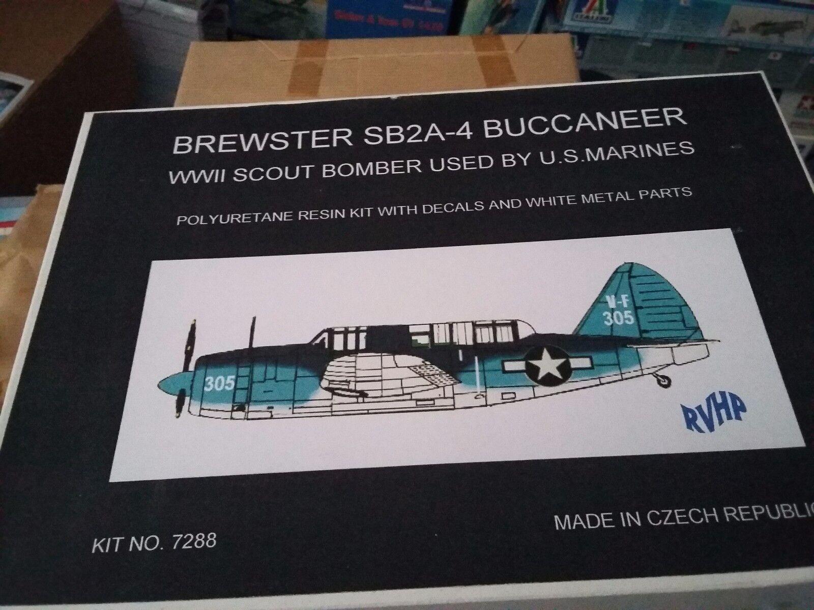 Brewster SB2A-4 Buccaneer 1 72 RVHP