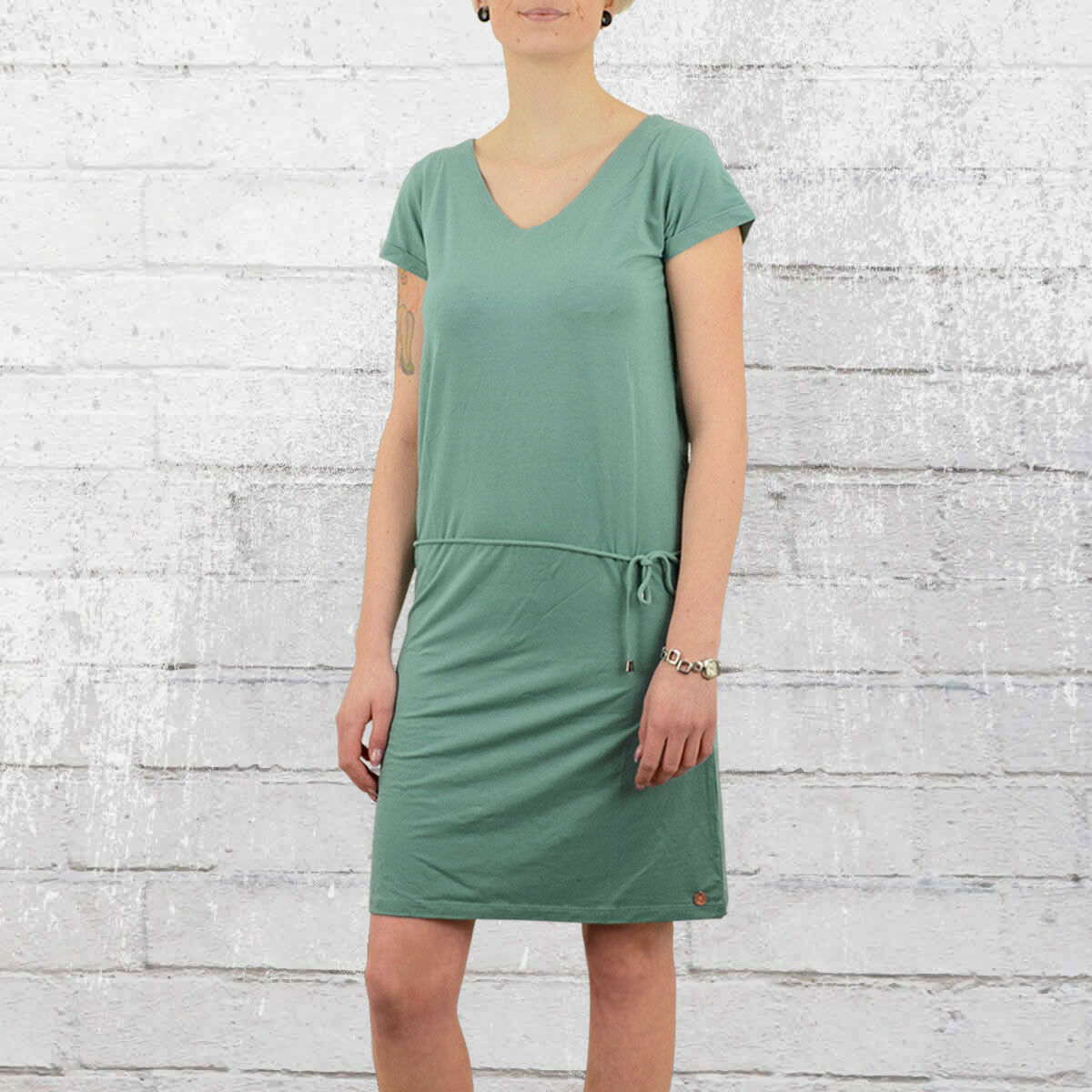 Grezzi Amburgo abito abito abito Leeloo Turchese Sportivo miniabito dress verde minerale 233cd9