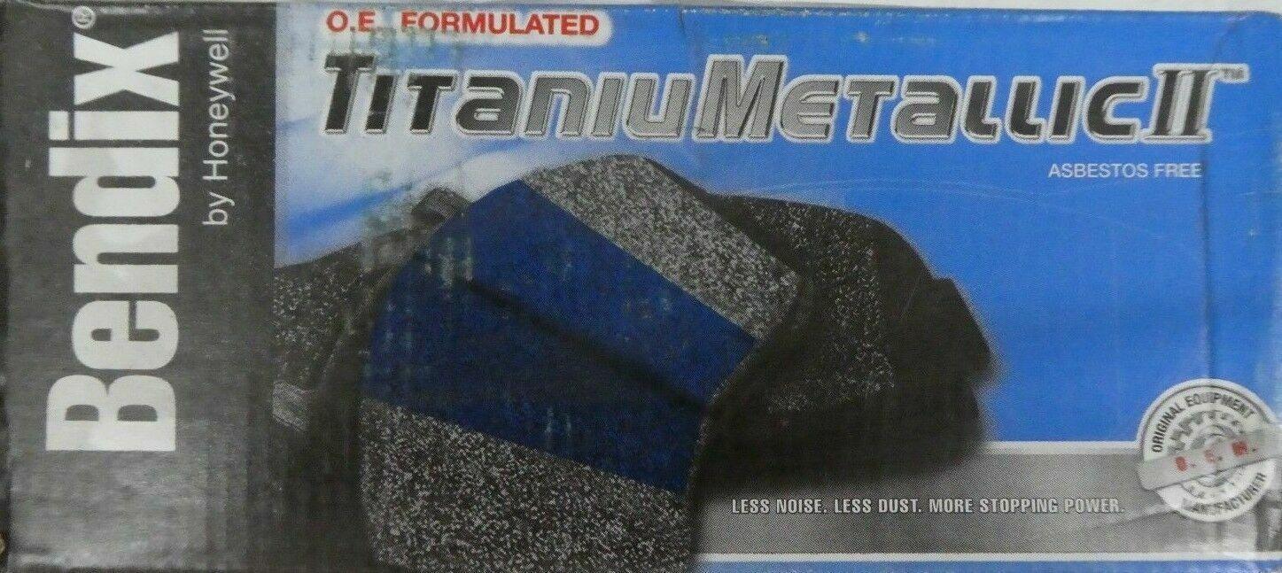Bendix MKD758 Semi-Metallic Brake Pad Set