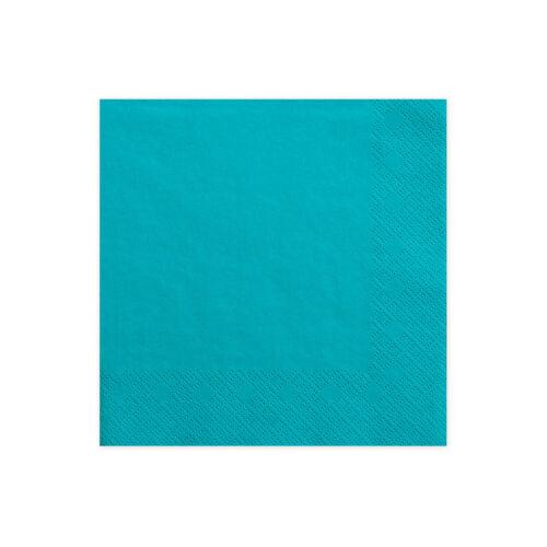 3-lagig Farbauswahl Servietten 20 Stück Papierservietten 33x33 cm