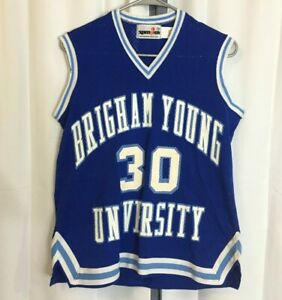 c0146f8cec6 Vintage BYU Cougars Women s Basketball SpanJan Sz 36  30 Game Used ...