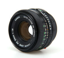 ** CANON 50mm f/1.8 FD VINTAGE MANUAL STANDARD PRIME LENS WITH CAPS **