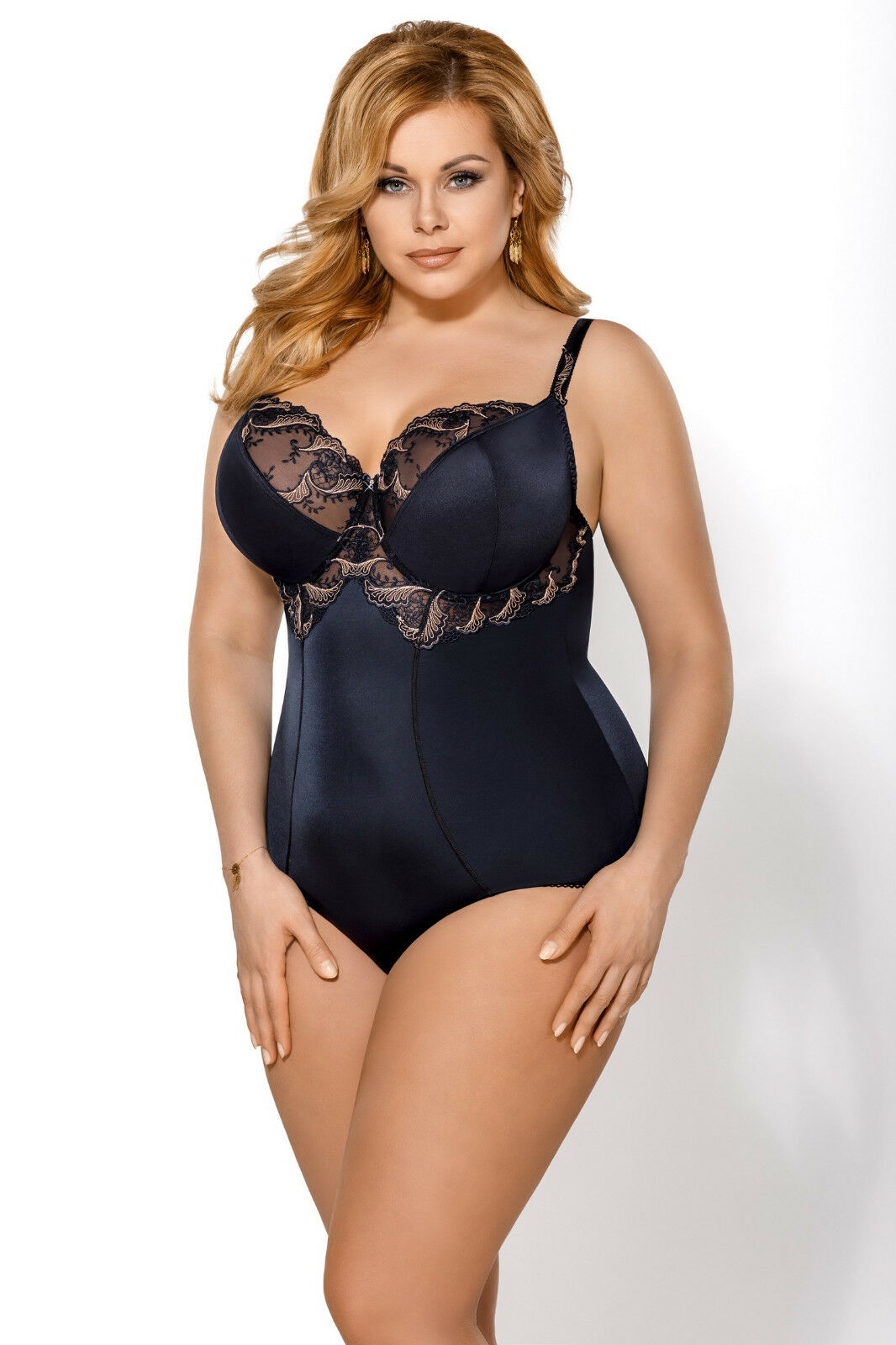 SALE  Bodyshaper Bodysuit Slimming Shaping Soft CUPS SIZE 34 36 38 C D E F G H