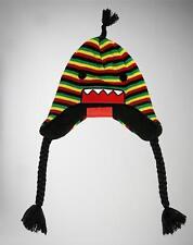NWT Authentic Licensed DOMO RASTA Laplander Knit Beanie Hat SICK LID! LAST ONES!